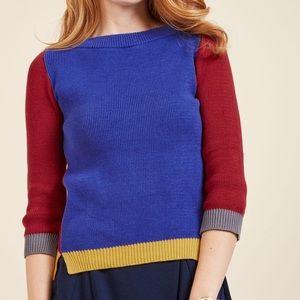ModCloth Colorblock Sweater
